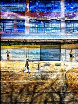 """Two Worlds Archival Pigment Print on Aluminum 40"""" x 30"""""""