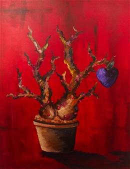 """Diablo De La Rosa  (Remastered) Acrylic on Canvas 30"""" x 24"""""""