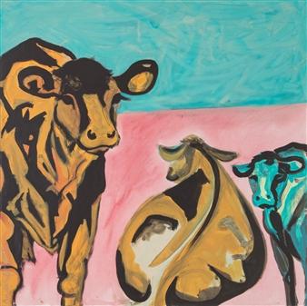 """Aufn Feld Acrylic on Canvas 39.5"""" x 39.5"""""""