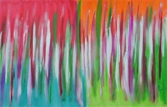 "Jesolo Acrylic on Canvas 31.5"" x 51.5"""