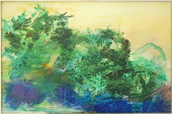 """Out of the Blue Ink on Clayboard 24"""" x 36"""""""
