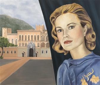 "Monaco Oil on Canvas 23.5"" x 27.5"""