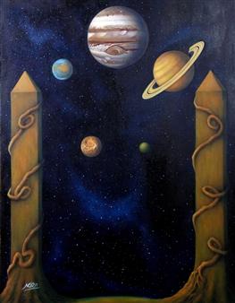 "Eternity Oil on Canvas 35.5"" x 27.5"""