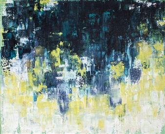 "Daylights Acrylic on Canvas 16"" x 20"""