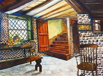 """Nostalgia Oil on Canvas 29.5"""" x 39.5"""""""