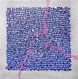 "Singapore Day 12 Acrylic on Canvas 36"" x 36"""