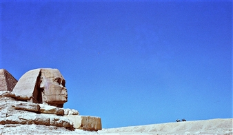 "Sphinx,  (Egypt) Silver Halide 16"" x 30"""
