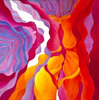 """Multiplicity Acrylic on Canvas 30"""" x 30"""""""