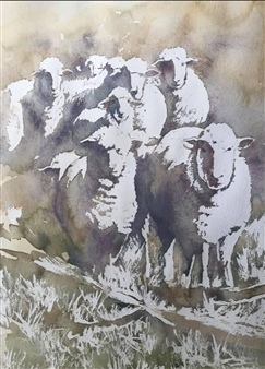 Nine Sheep