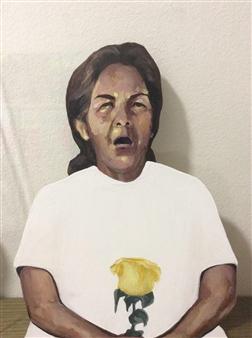 """3 Oil & Acrylic on Canvas 0"""" x 0"""""""