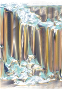 "Quakes 37, 1/6 Fine Art Digital Print 54"" x 38"""