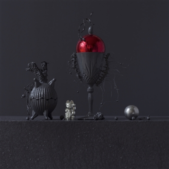 Still Life in Wet with Jeff's Toys / second variation
