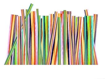 "Venetian Straws Archival Pigment Print 12.5"" x 17"""