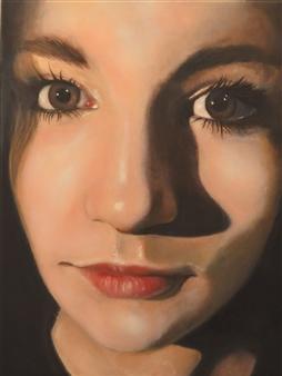 """Sara Oil on Canvas 16"""" x 12"""""""