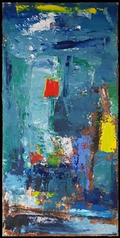"""No. 12 Oil on Canvas 39"""" x 19"""""""