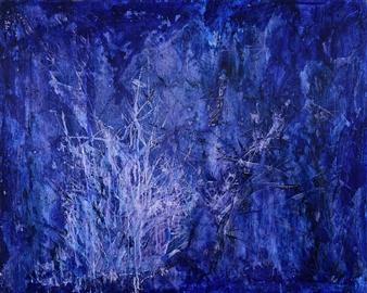 "Secret Garden 2 Acrylic on Canvas 28.5"" x 36"""