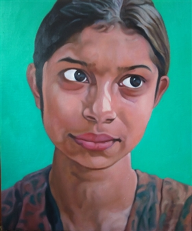 Shy Girl at Dhaka