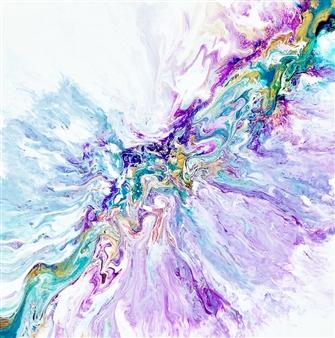 "Abstract 6 Acrylic on Canvas 36"" x 36"""