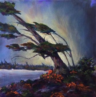 """The Pine Acrylic on Canvas 20"""" x 20"""""""