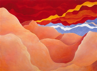 """Sahara Storm Acrylic on Canvas 22"""" x 30"""""""