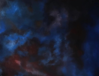 """In the Deepest Nebula of Your Soul Oil on Canvas 31.5"""" x 39.5"""""""