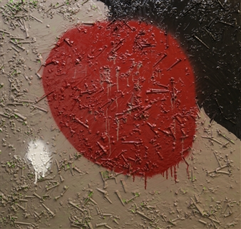 Industrious Man's Red Moon