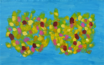 "Duo Acrylic on Canvas 31.5"" x 51.5"""