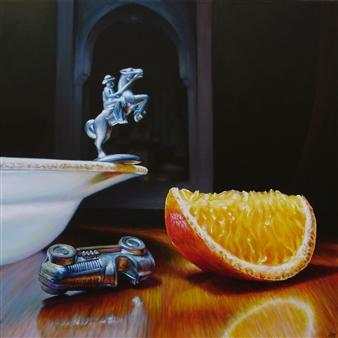 """Furious Acrylic on Canvas 24"""" x 24"""""""