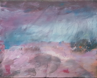 "Rebirth Acrylic on Canvas 15.5"" x 19.5"""