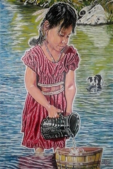 Girl at the River