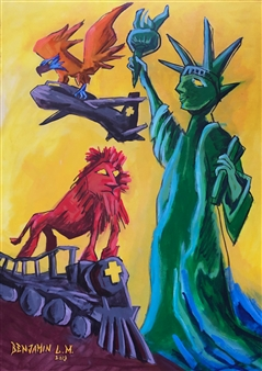 Liberty Power Positivity Freedom