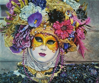 Venetian Mask 4