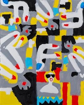 """Untitled11 Acrylic on Board 36"""" x 29"""""""