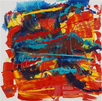 """Energy #1 Acrylic on Canvas 20"""" x 20"""""""