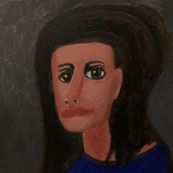 "Portrait Painting 1U Oil on Canvas 16"" x 16"""
