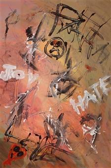 "Americana Acrylic on Canvas 48"" x 36"""