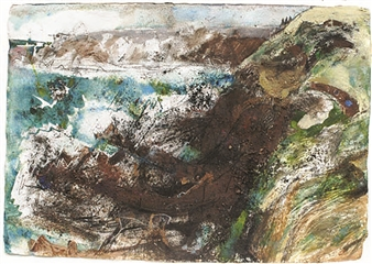 Rabbit Hole and Tanker. St Anne's Head, Pembrokeshire