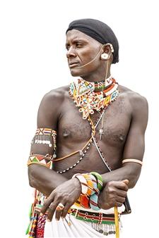"Kenya Warrior Archival Pigment Print 40"" x 30"""