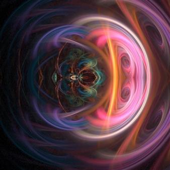 "Into the Mind Digital Print on Canvas 39"" x 28"""