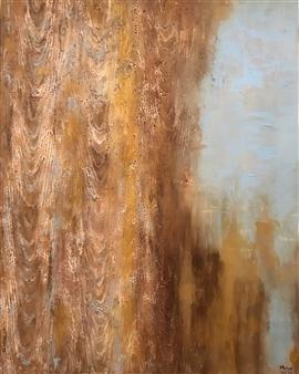 """Summer House Acrylic on Canvas 39.5"""" x 31.5"""""""