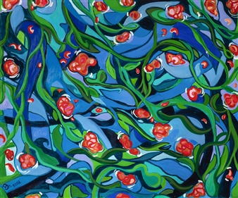 "Original Nature 2 Oil on Canvas 24"" x 26"""