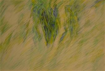 """Sketch for Tropical 3 Polychrome Pencil 12"""" x 18"""""""