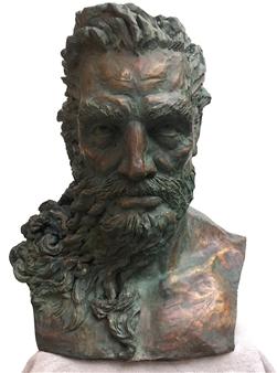 "Poseidon Bronze 24"" x 20"" x 18"""