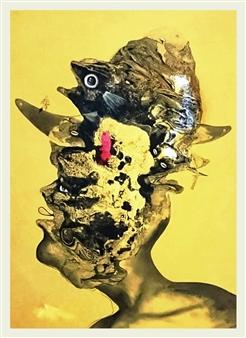 """De la serie MI LEGADO Oil on Canvas 43.3"""" x 35.4"""""""