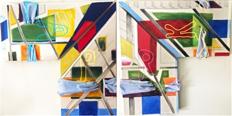 City Park Series  (tetraptych)
