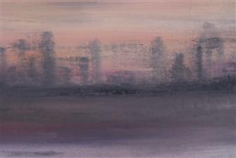 "Hudson River 2196 Oil on Canvas 11.5"" x 16.5"""