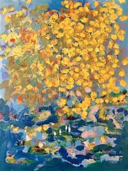 "Untitled #127 Acrylic on Canvas 24"" x 18"""
