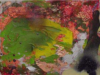"""New York Oil & Acrylic on Canvas 11"""" x 16"""""""