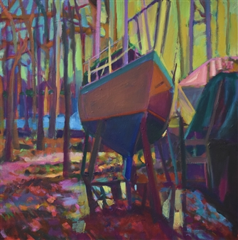 Boatyard in Trees