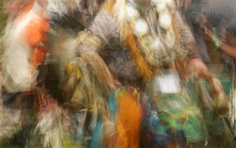 Indian Dance Colors